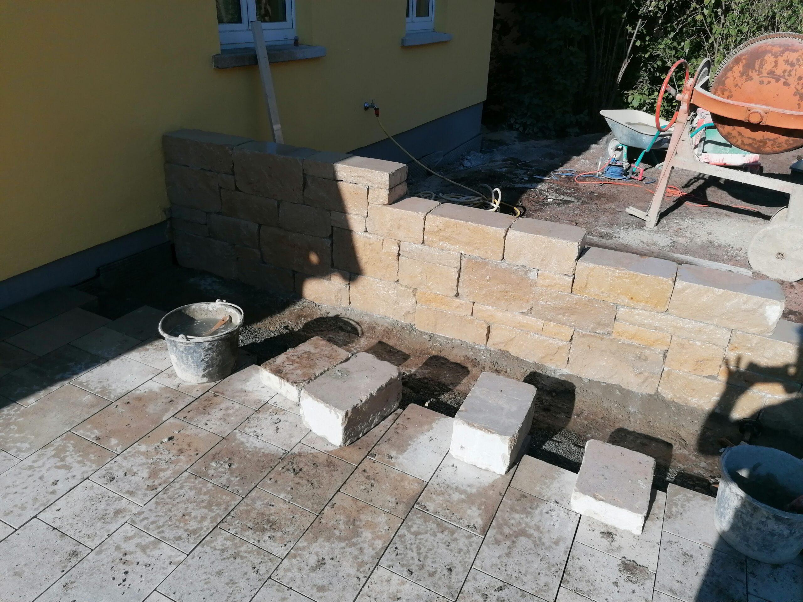 Trockensteinmauer (2)